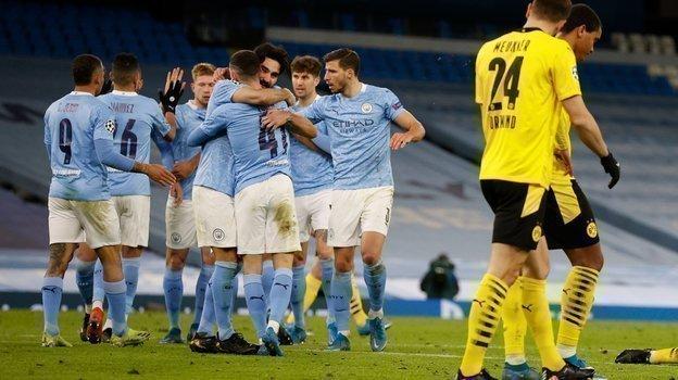 «Манчестер Сити»— «Боруссия Д», 2:1 , обзор матча 1/4 финала Лиги чемпионов, 6апреля 2021, видео голов
