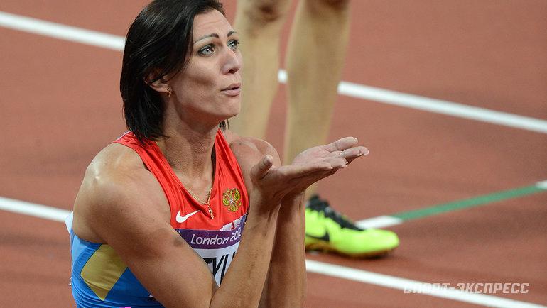 Олимпийская чемпионка-2012 Наталья Антюх. Фото Алексей Иванов, -