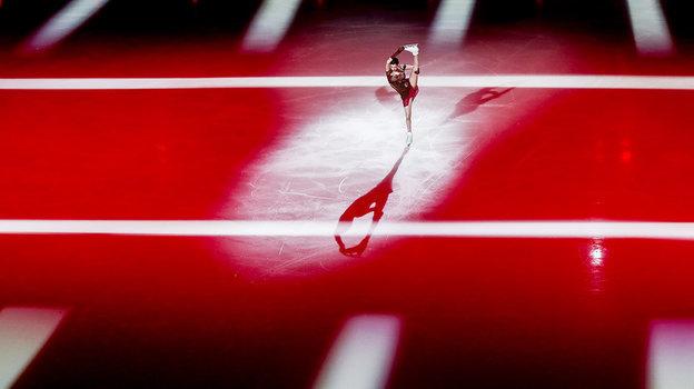 6апреля. Москва. Шоу Тутберидзе «Чемпионы нальду». Евгения Медведева. Фото Дарья Исаева, «СЭ» / Canon EOS-1D X Mark II
