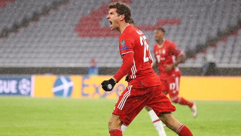 Томас Мюллер. Фото ФК «Бавария».