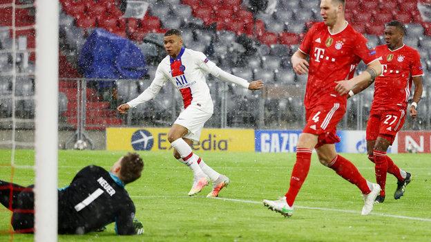 «Бавария»— «ПСЖ», 2:3, матч 1/4 финала Лиги чемпионов, обзор, видео голов