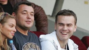 Сергей Жуков поздравил Игоря Акинфеева сднем рождения