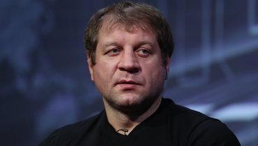 Артем Тарасов – о Емельяненко: «Он болен, алкоголизм – это страшная болезнь»