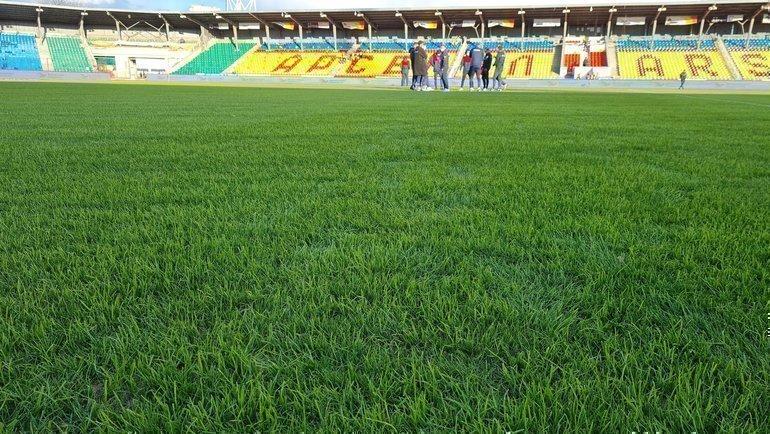 Стадион вТуле. Фото ФК «Арсенал».