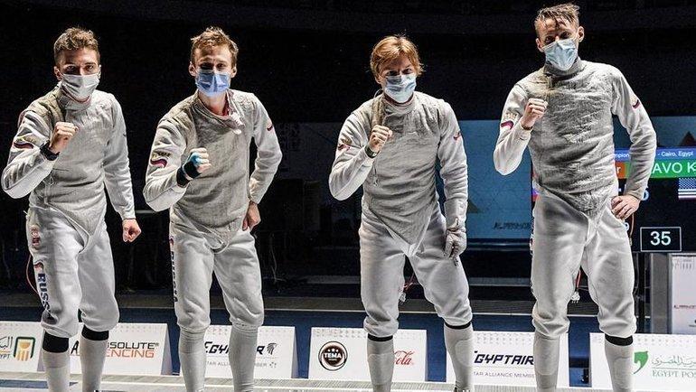 Российские рапиристы выиграли первенство мира среди юниоров. Фото FIE