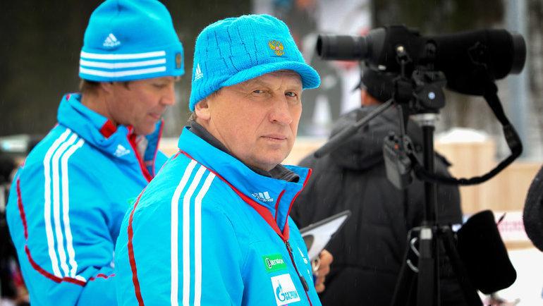 Валерий Польховский. Фото СБР, biathlonrus.com