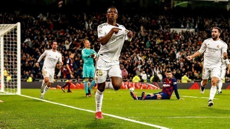 «Реал» побеждает «Барселону» вчемпионате Испании уже два матча подряд. Фото twitter.com/realmadrid