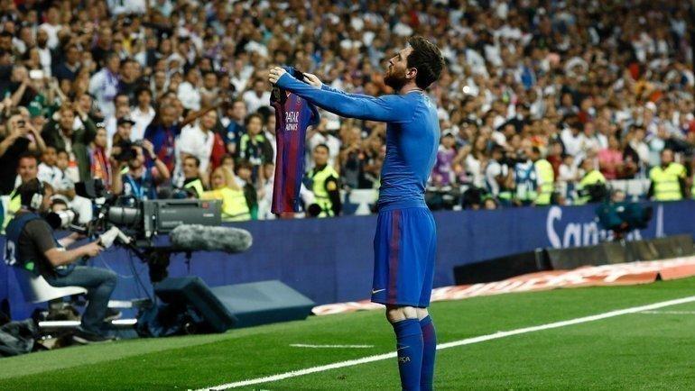 Свиная голова для Фигу, легендарный финт Роналду ивеликий гол Месси. Главные моменты класико вXXI веке