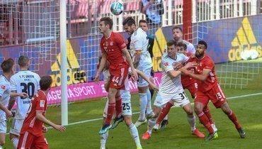 «Бавария» потеряла очки вматче с «Унионом»