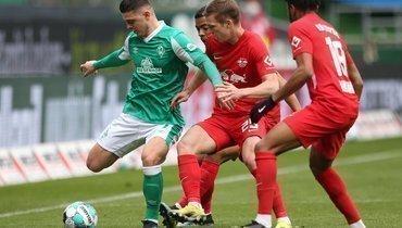«Лейпциг» разгромил «Вердер» исократил отставание от «Баварии» до8 очков