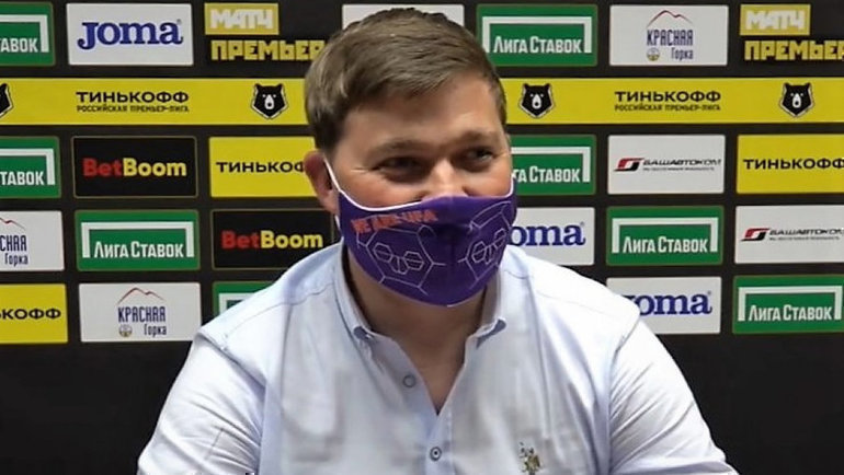 Алексей Стукалов. Фото ФК «Уфа»