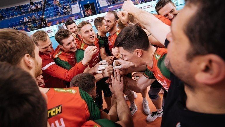 «Локомотив» завоевал бронзу чемпионата России. Фото lokovolley.com