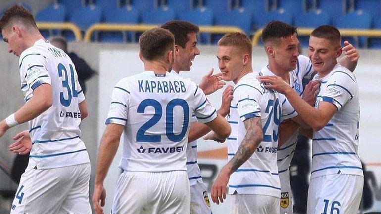 Киевское «Динамо» обыграло «Днепр-1». Фото ФК «Динамо» (Киев)