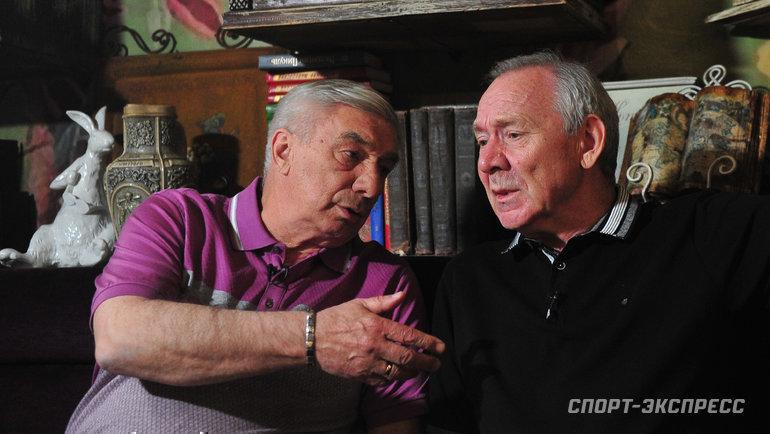 Георгий Ярцев (слева) иОлег Романцев. Фото Федор Успенский, «СЭ»