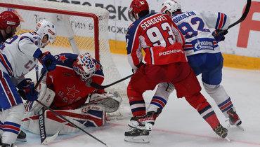 СКА втретьем овертайме победил ЦСКА исократил отставание всерии доминимума