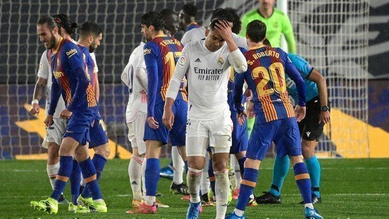 10апреля. «Реал»— «Барселона». Каземиро. Фото AFP