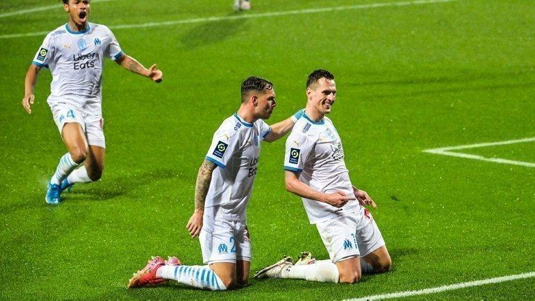 «Марсель» неудержал победу вматче с «Монпелье». Фото Twitter