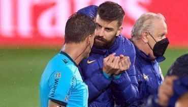 «Реал»— «Барселона»: Пике неиграл, нобыл наказан арбитром