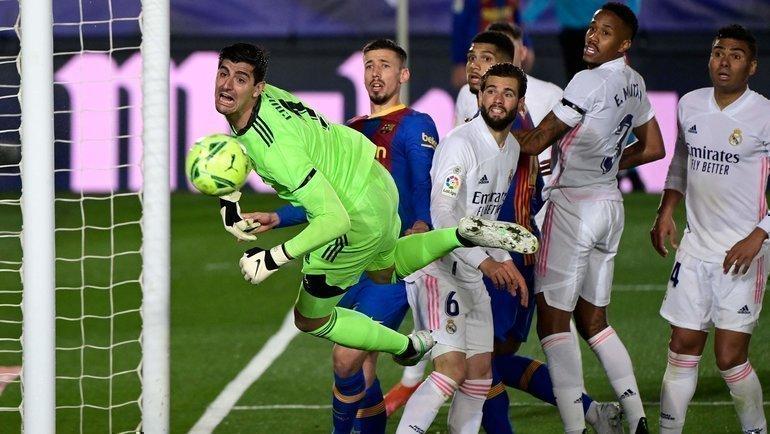 10апреля. Мадрид. «Реал»— «Барселона»— 2:1.