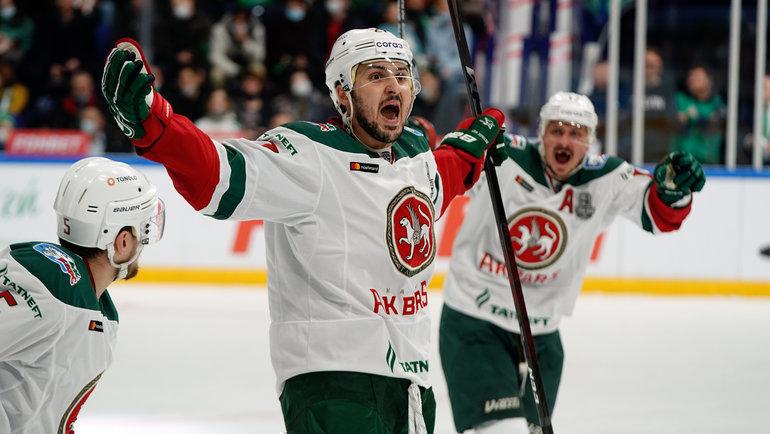 Кирилл Петров. Фото photo.khl.ru, photo.khl.ru