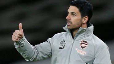 Артета заявил, что рассчитывает наМартинелли в «Арсенале»