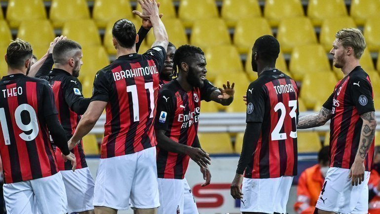 Футболисты «Милана». Фото AFP