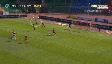«Арсенал»— «Краснодар»: судья правильно неназначил пенальти вворота туляков