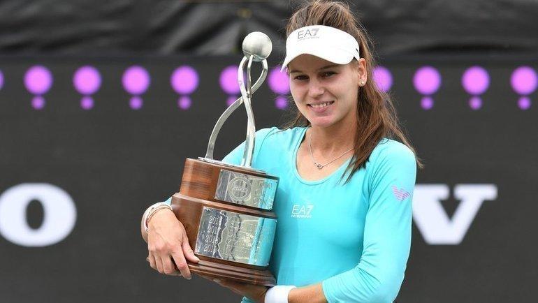 Кудерметова— первая ракетка России. Прорыв Вероники после первого титула