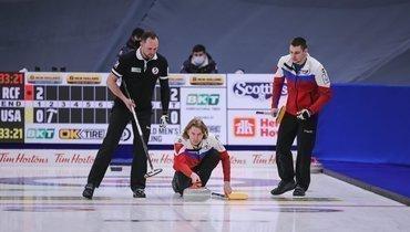 Мужская сборная России проиграла швейцарцам сосчетом 5:6 вматче затретье местоЧМ.