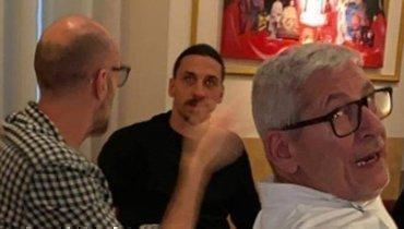 Ибрагимовича подвергли критике за посещение ресторана в Милане в обход коронавирусных ограничений