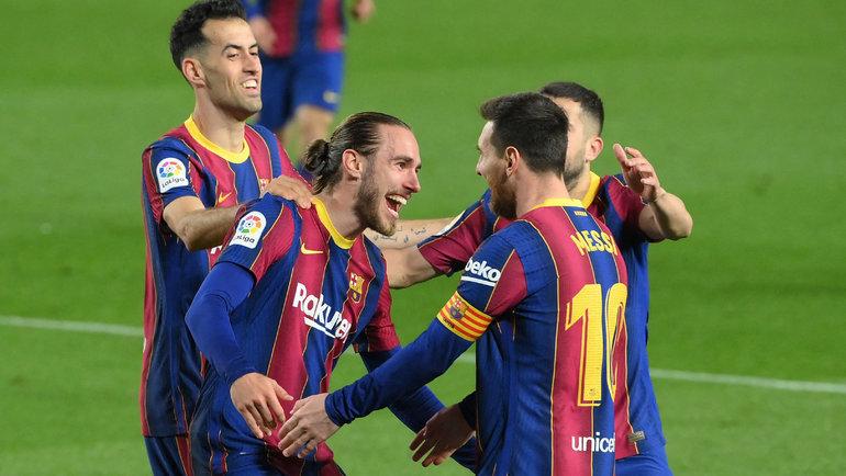 «Барселона» - самый дорогой футбольный клуб по версии Forbes. Фото AFP