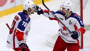 ЦСКА обыграл СКА ивышел вфинал Кубка Гагарина.