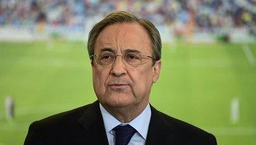 Флорентино Перес переизбран президентом «Реала» нановый срок