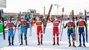 Финиш Ретивых вкомандном спринте вДрездене попал всписок лучших моментов сезона