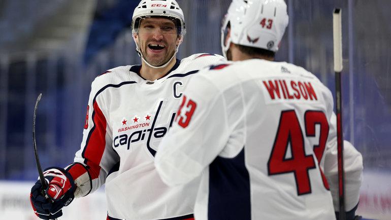 Нападающий «Вашингтона» Александр Овечкин (слева). Фото Timothy T. Ludwig, USA Today Sports