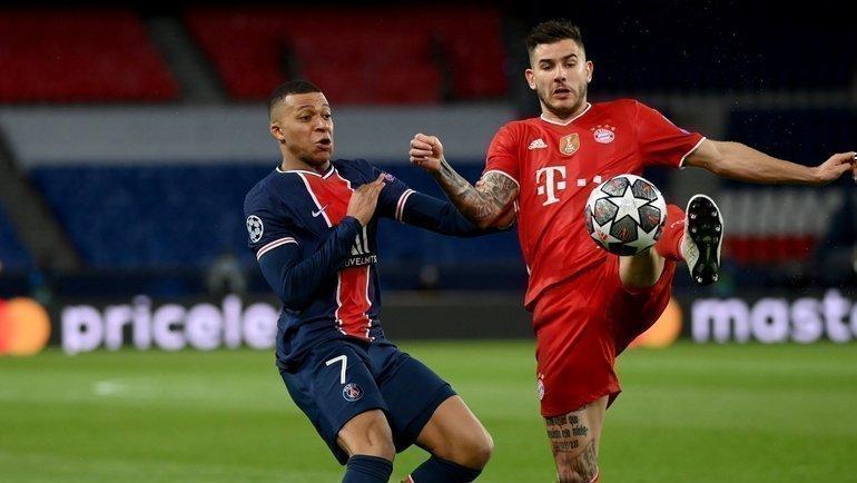 Кильян Мбаппе (слева). Фото ФК «Бавария».