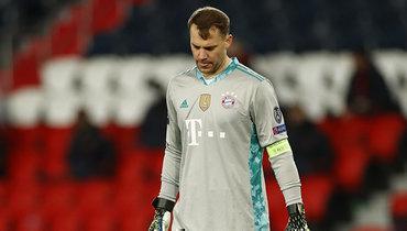 Нойер заявил, что «Бавария» доигрывает сезон изпоследних сил