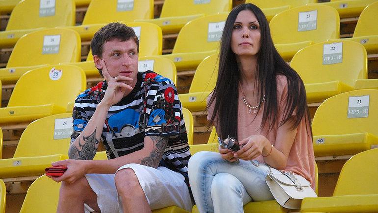 Павел и Алана Мамаевы. Фото Виталий Тимкив