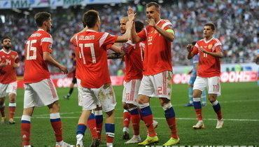 Россия проведет контрольные матчи сПольшей иБолгарией перед Евро-2020