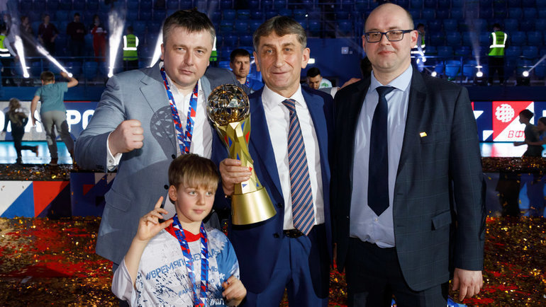 Золотой сезон московского «Динамо». Три трофея за106 дней