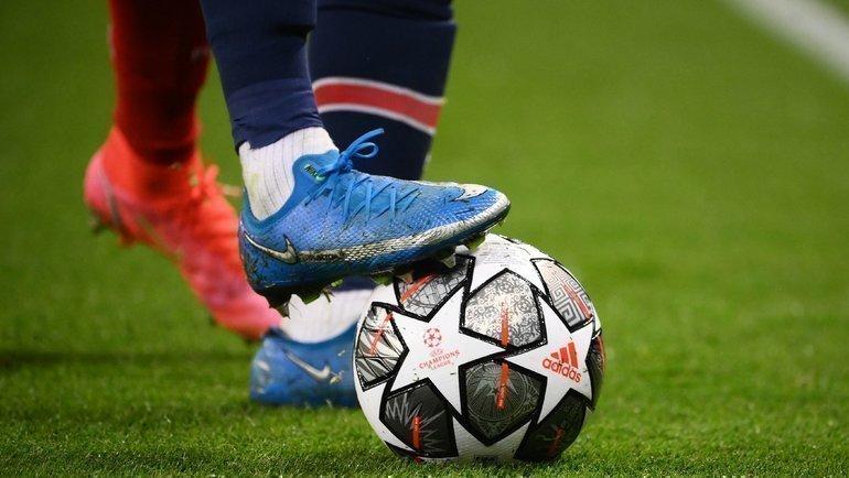 Матч Лиги чемпионов УЕФА. Фото AFP