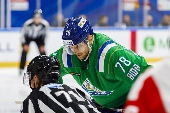 Александр Кадейкин. Фото ХК «Салават Юлаев».
