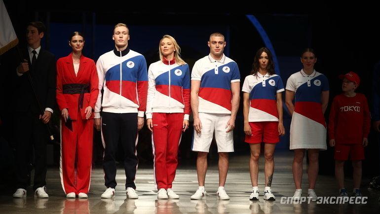 Представлена форма российских атлетов наОлимпийских играх вТокио. Фото Дарья Исаева, «СЭ» / Canon EOS-1D X Mark II