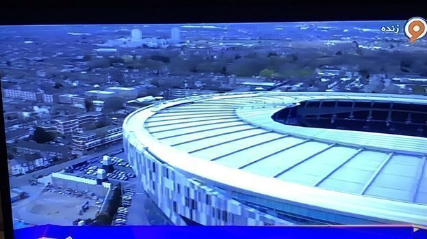 Отрывок из трансляции матча «Тоттенхэм» – «Манчестер Юнайтед».