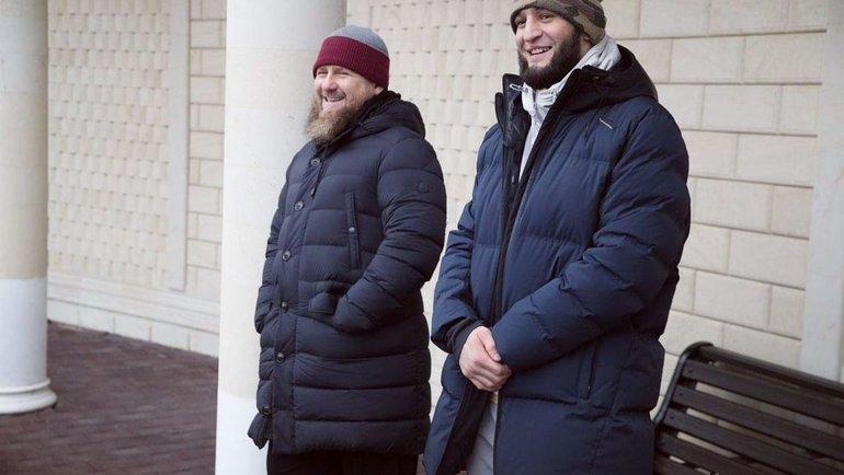 Хамзат Чимаев (справа). Фото Instagram