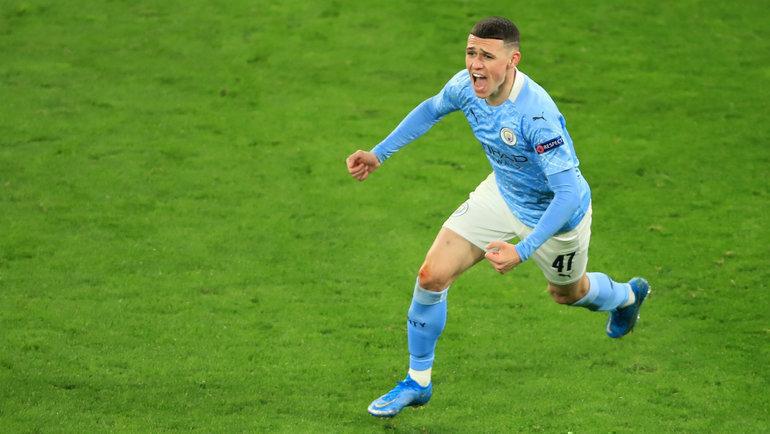 14апреля. Дортмунд. «Боруссия»— «Манчестер Сити»— 1:2. Фил Фоуден. Фото Reuters