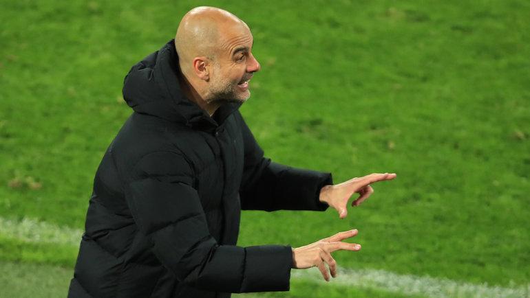 14 апреля. Дортмунд. «Боруссия» — «Манчестер Сити» — 1:2. Хосеп Гвардьола. Фото Reuters