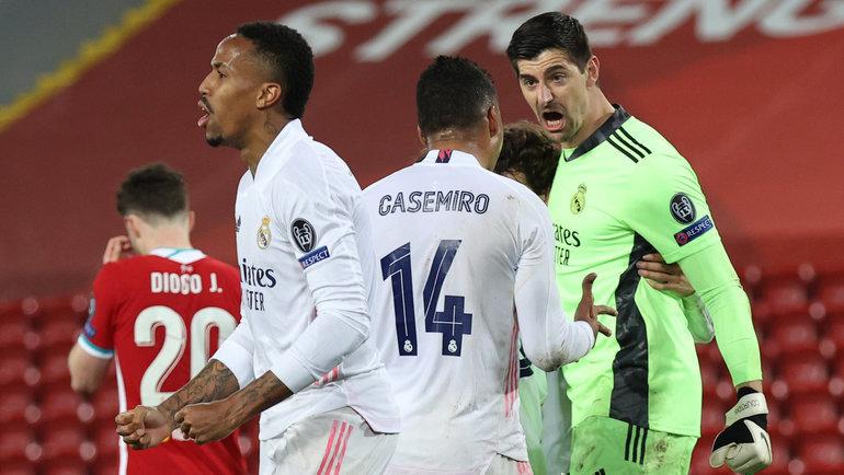 14апреля. Ливерпуль. «Ливерпуль»— «Реал»— 0:0. Фото Reuters
