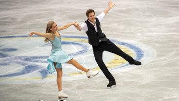 Синицина иКацалапов выиграли ритм-танец, Россия лидирует накомандном чемпионате мира вЯпонии