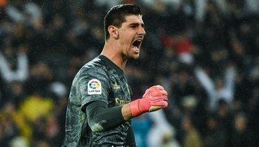 Зидан высоко оценил игру Куртуа впоследних матчах «Реала»